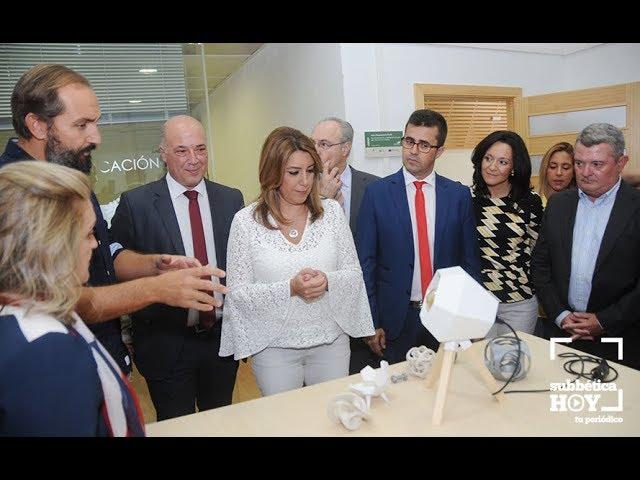 VÍDEO: La visita de la Presidenta de la Junta de Andalucía a Encinas Reales