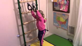 Шведская стенка. Домашний спортивный комплекс для детей. Indoor gym for kids.(, 2016-04-27T03:15:34.000Z)