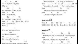 No Longer A Slave   Bethel Music Chords