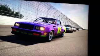Forza 6 Daytona pack racing Nascar