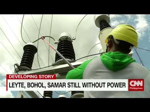 Leyte, Bohol, Samar still without power