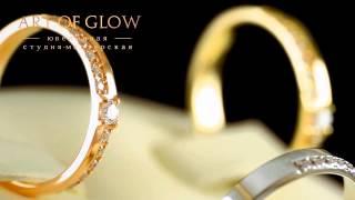 Помолвочные и обручальные кольца с золота 585 пробы украшенные бриллиантами.(, 2014-05-27T16:39:53.000Z)
