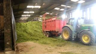 Silage in the yorkshire dales, low buildings