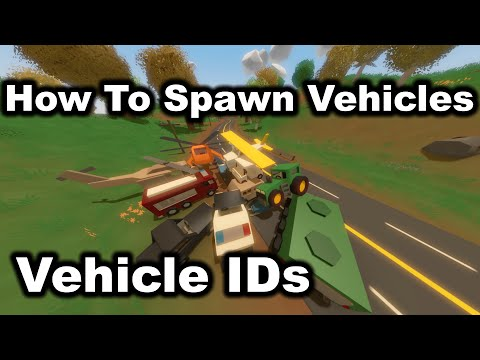Unturned: All Vehicle IDs - How To Spawn Vehicles
