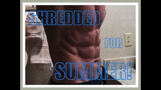 SHREDDED for SUMMER   Free CONDITIONING TEMPLATES!