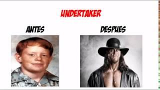 luchadores de la wwe antes y despues 2016