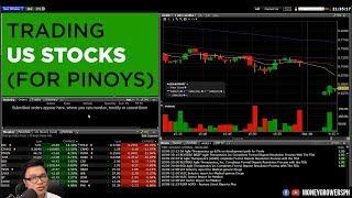 Paano mag-Trade ng US Stocks for PINOYS (Live Trading)