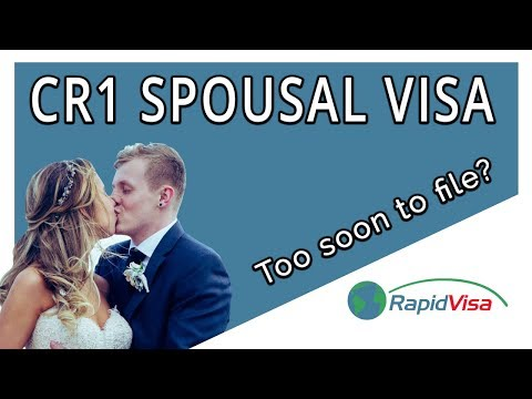 What If I File My CR1 Spousal Visa Too Soon After the Wedding?