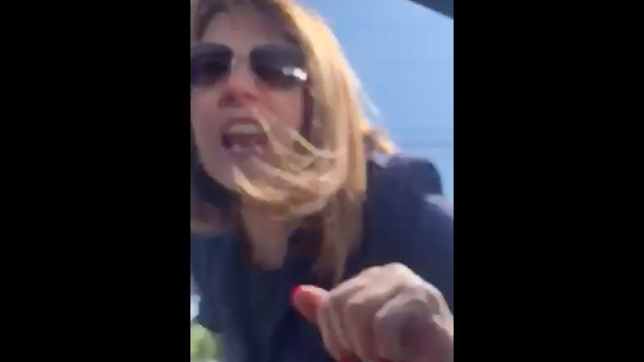 Angry Woman Attacks Black Man And Shouts Racial Stereotype