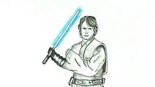 How to Draw Anakin Skywalker