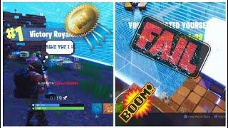 Epic Moments & Fails    Fortnite Battle Royale