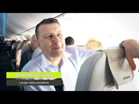 Ar AirBaltic CS300 Uz Parīzi!