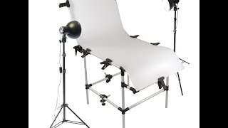 Product Photography: How to assemble a Photo Studio Shooting Table