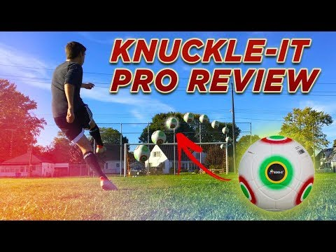 Knuckle-It Pro FULL REVIEW! (Bend-It Soccer) [Unboxing, Overlook, Touch, Shooting & more!]