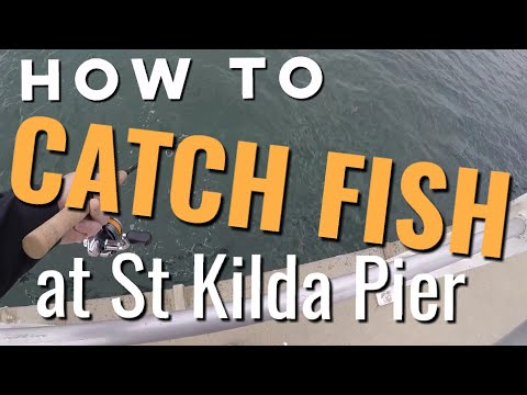 How To CATCH Fish At St Kilda Pier