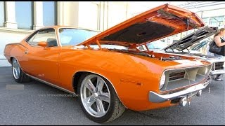 Modified Plymouth Barracuda 1970 340 Cuda Notchback Coupe Muscle Car