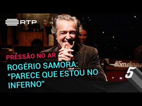 """Rogério Samora: """"Parece que estou no inferno""""   5 Para a Meia-Noite   RTP"""
