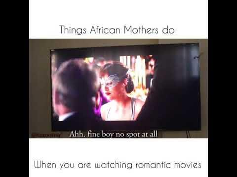 AFRICAN PARENT WATCHING NUDE SCENE - Taaooma