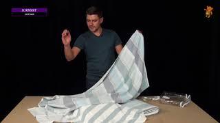 Простыни для укрывания и полотенца Luxberry коллекция Cottage - обзор
