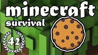 "Minecraft Survival - Aflevering 42 - ""Koekjes!"""