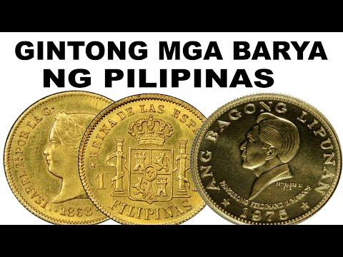 Gintong Barya ng Pilipinas Gold Coins of the philippines RARE COINS