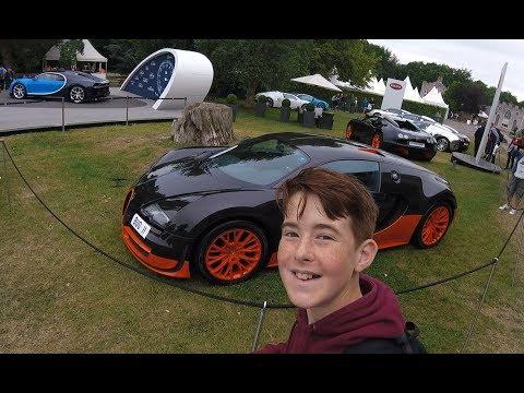 Goodwood Festival Of Speed 2017 - Vlog Part 1