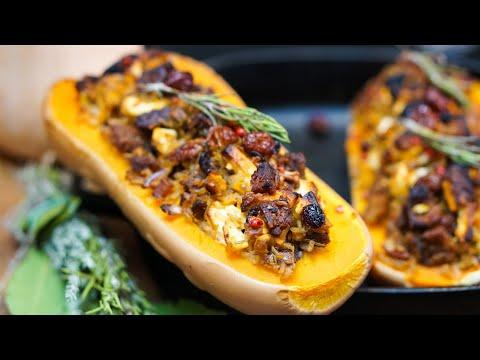 recette-courge-butternut-farcie-vegetarienne