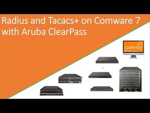 Radius and Tacacs on Comware 7 with Aruba ClearPass