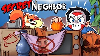 WE ROB THE NEIGHBOR OF ALL HIS VALUABLES!!!! Secret Neighbor (Funny Moments) 5v1!