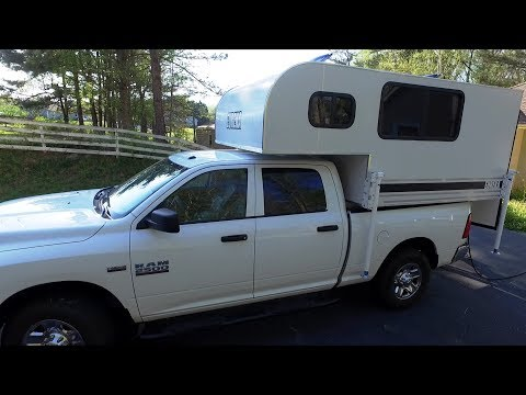 The Least Expensive and Lightest Production Hard Side Truck Camper in the World !