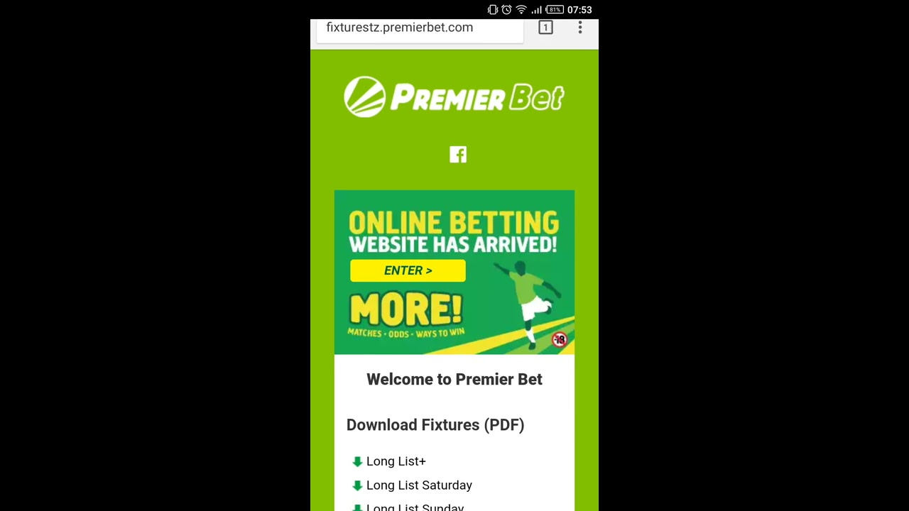 application premier bet rdc
