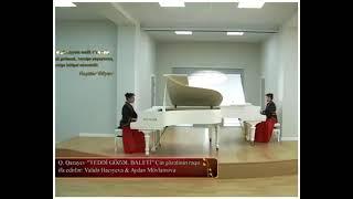 """Q. Qarayev """"7 gözəl baleti""""  Çin gözəlinin rəqsi. İfa edirlər: Validə Hacıyeva & Aydan Mövlamova"""
