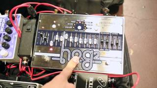 geoff countryman and the electro harmonix hog2 harmonic octave generator