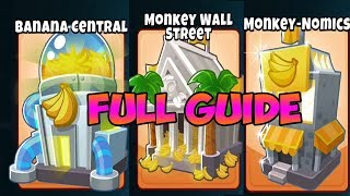 Bloons TD 6 - BEST BANANA FARM GUIDE OF ALL TIME - ALL 5TH TIER FARMS