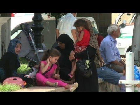 12,000 Syrians flee to Algeria in July
