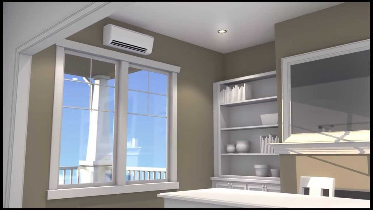 heat unit mini wallnit airnits split ton ac electric conditioner youtube mitsubishi mounted ductless room and conditioning wall btu cooling heating units systems maxresdefault air celiera heater mount