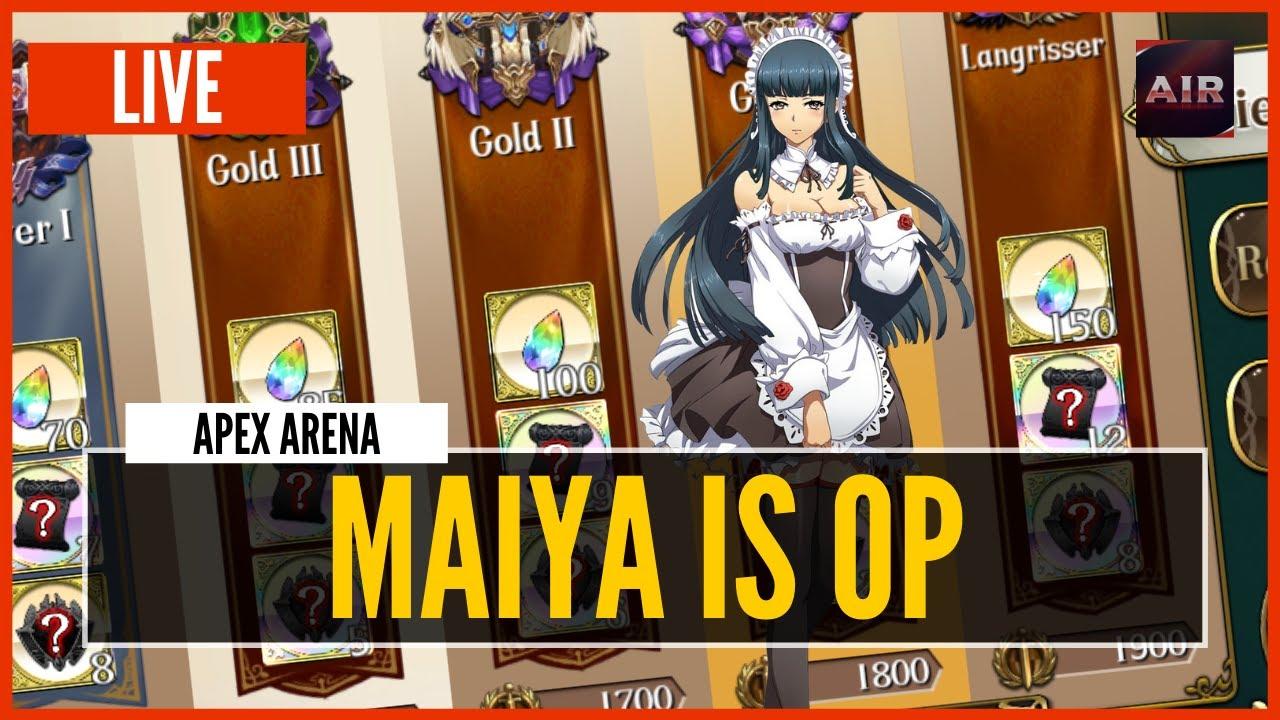 Download 🔴 LIVE - Langrisser M - MAIYA is OP | Apex S7