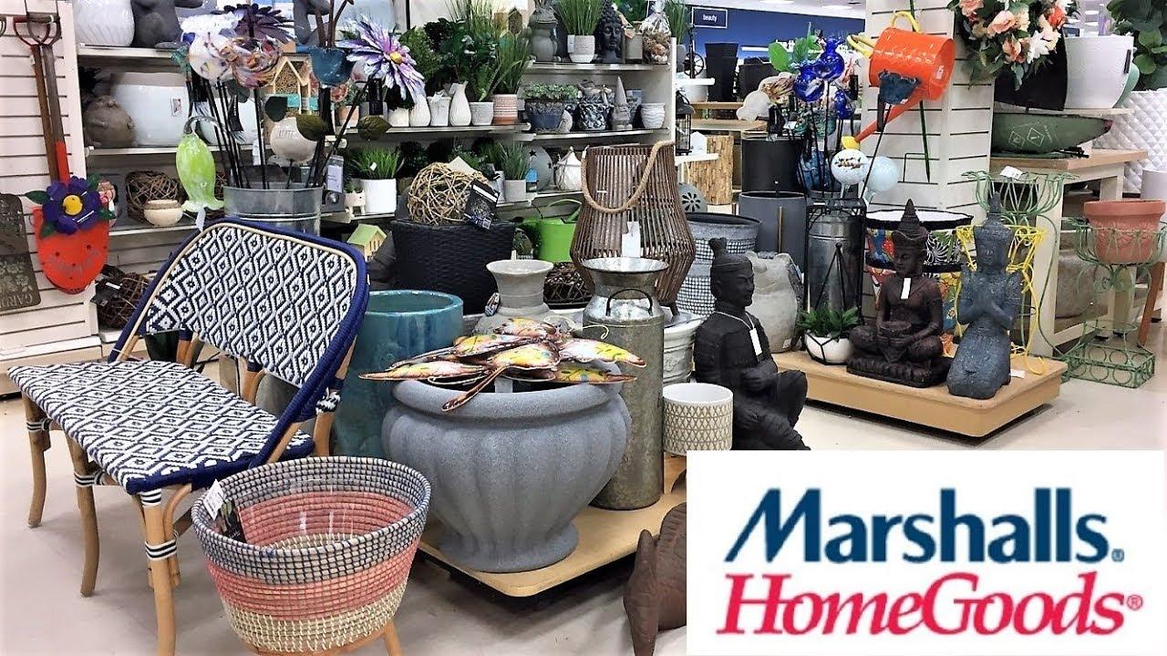 goods decor garden marshalls spring shopping 4k