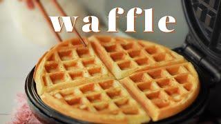 WAFFLE recipe - Cách làm WAFFLE