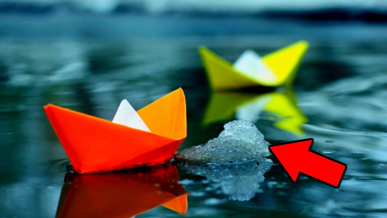 Смотреть Как сделать кораблик из бумаги своими руками: пошаговая инструкция видео