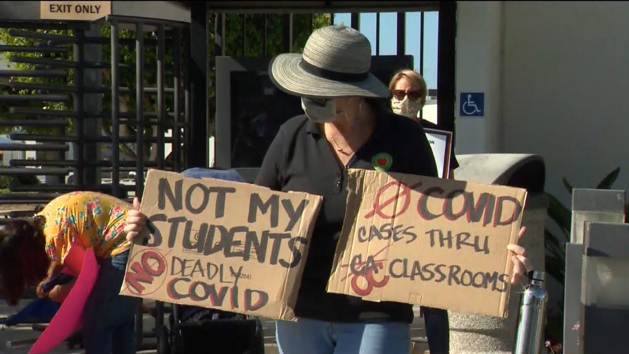 Los Angeles Teachers Union Says Public Schools Should Not Reopen Unless Their Demands Are Met