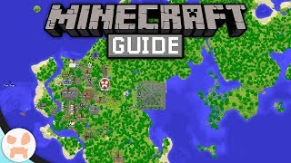 How To Make A GIANT MAP WALL! | The Minecraft Guide Episode 92