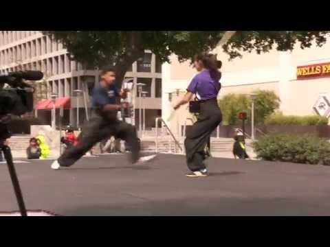KFTCD 2015: Kong Shou Dui Gun 空手對棍