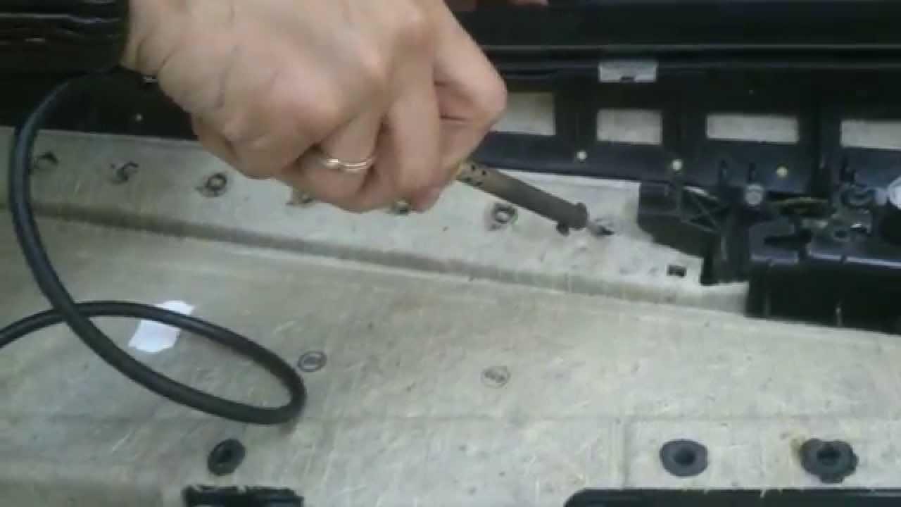 Opel Astra H снятие заднего бампера/(Removing the rear bumper Opel .