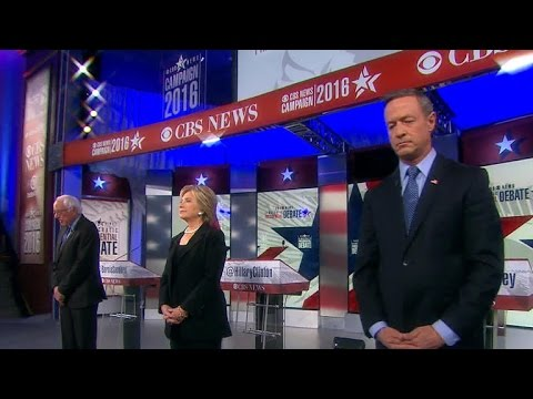 Dem Debate Part 1: Candidates address Paris attacks, ISIS
