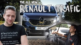 Testing the new Renault Trafic - not too bad!