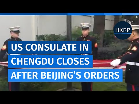 US consulate in Chengdu officially closes after Beijing's orders