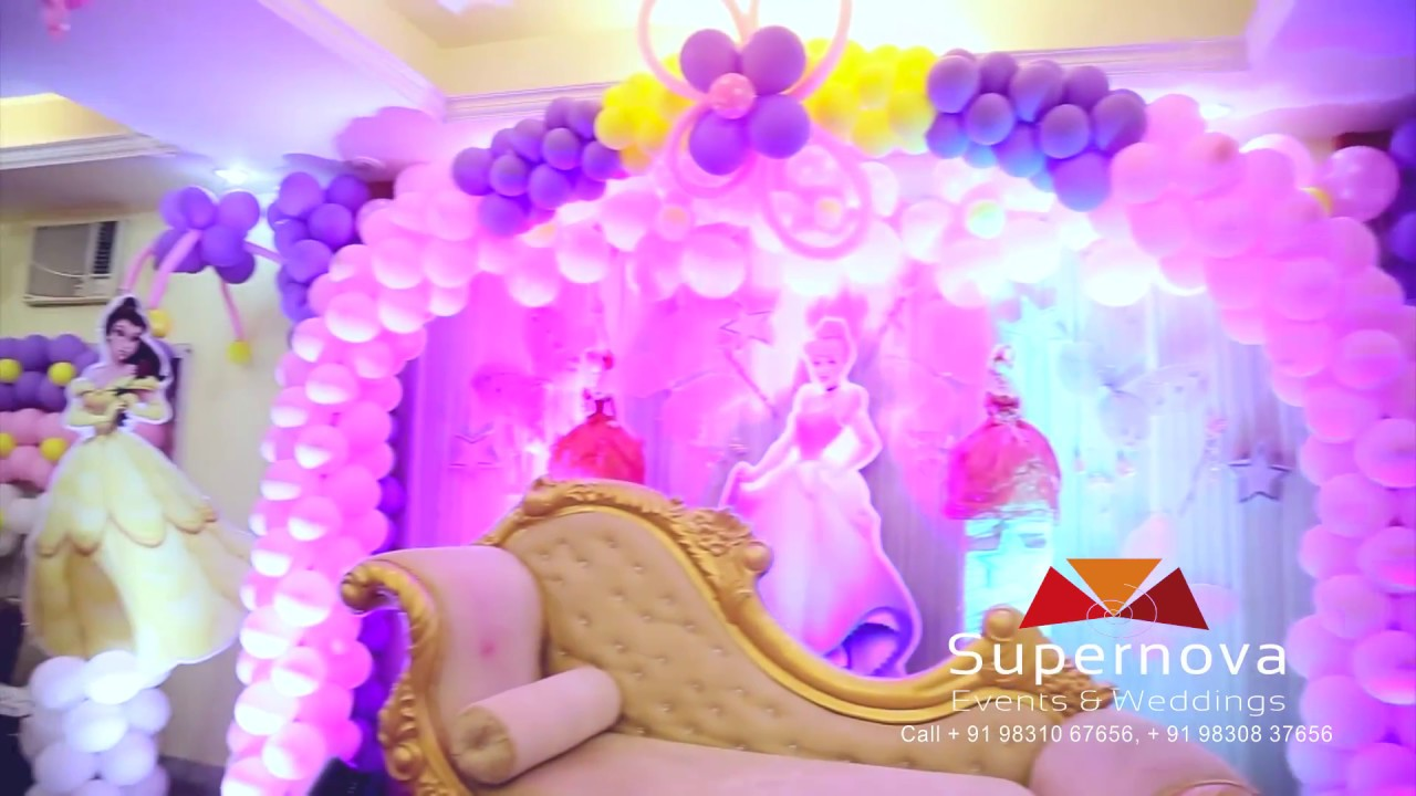 Barbie theme Balloon Decoration in Barasat Kol-124 Supernova Events ...