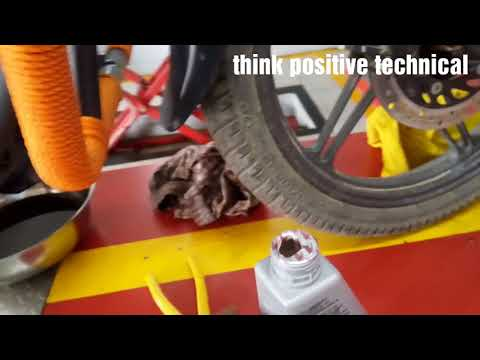 Workshop tutorial How to change Engine oil Honda shine Sp l bike Ka oil kaise change kare l Hindi l