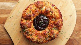 BBQ-Chicken Monkey Bread Ring